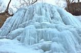 氷の造形  俄か鍾乳石