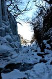 日光雲竜渓谷  迷宮からの出口