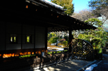 禅寺の寒光…1