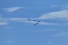 13:37編隊飛行ブルーインパルス〜美しい三角形〜Blue Impulse