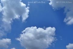 7.27劇場版コード・ブルー公開初日のCode Blue Sky 10:24am