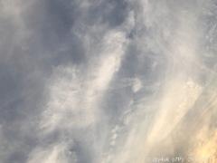 9.9初秋の夕空〜トンボ付き!〜sunset cloud autumn sky