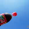 Coca-Cola to fly over the hot BlueSkyコーラ