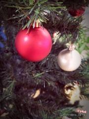 "Xmas tree ""red ball"" 〜りんごの様なきみは"
