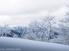春の雪山①