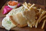 ラクレットチーズのピタパンサンド