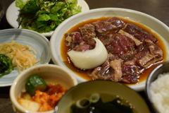 牛ビックハラミ定食
