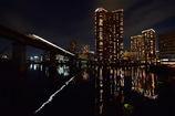 五色橋からの芝浦アイランド