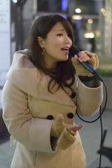 路上ライブ 谷川成美さん 5