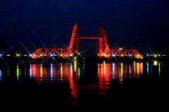 昇開橋ライトアップ