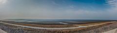 遠浅の干潟パノラマ