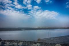 河口の風景