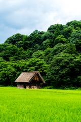 田園と倉庫