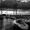 Monochrome sunset #16