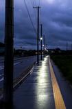 雨の日の夜明け