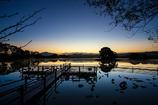 平池の夜明け