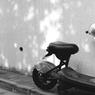 PENTAX MGで撮影した乗り物(恵比寿のバイク)の写真(画像)