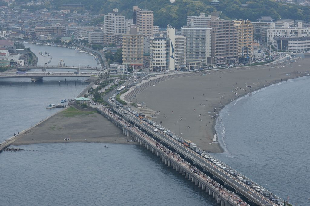 江ノ島の高台から