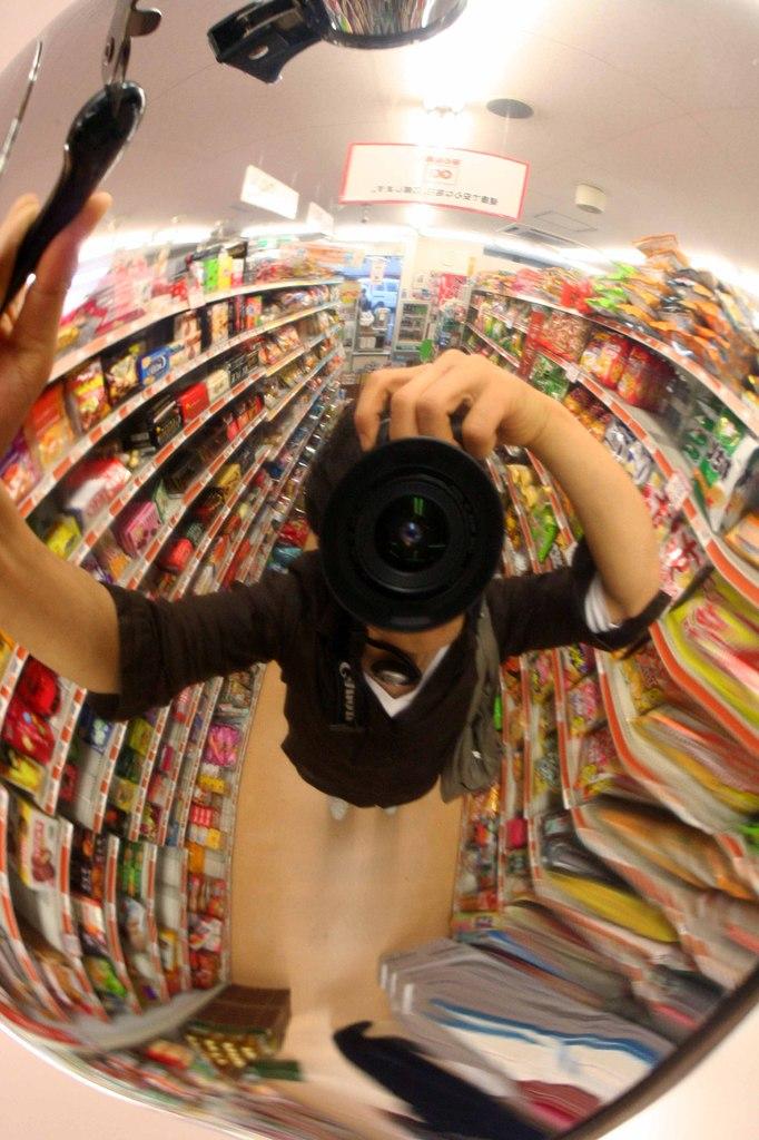 ヤカンレンズ スーパーマーケット