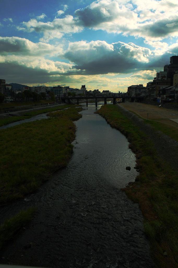 ある日の賀茂川