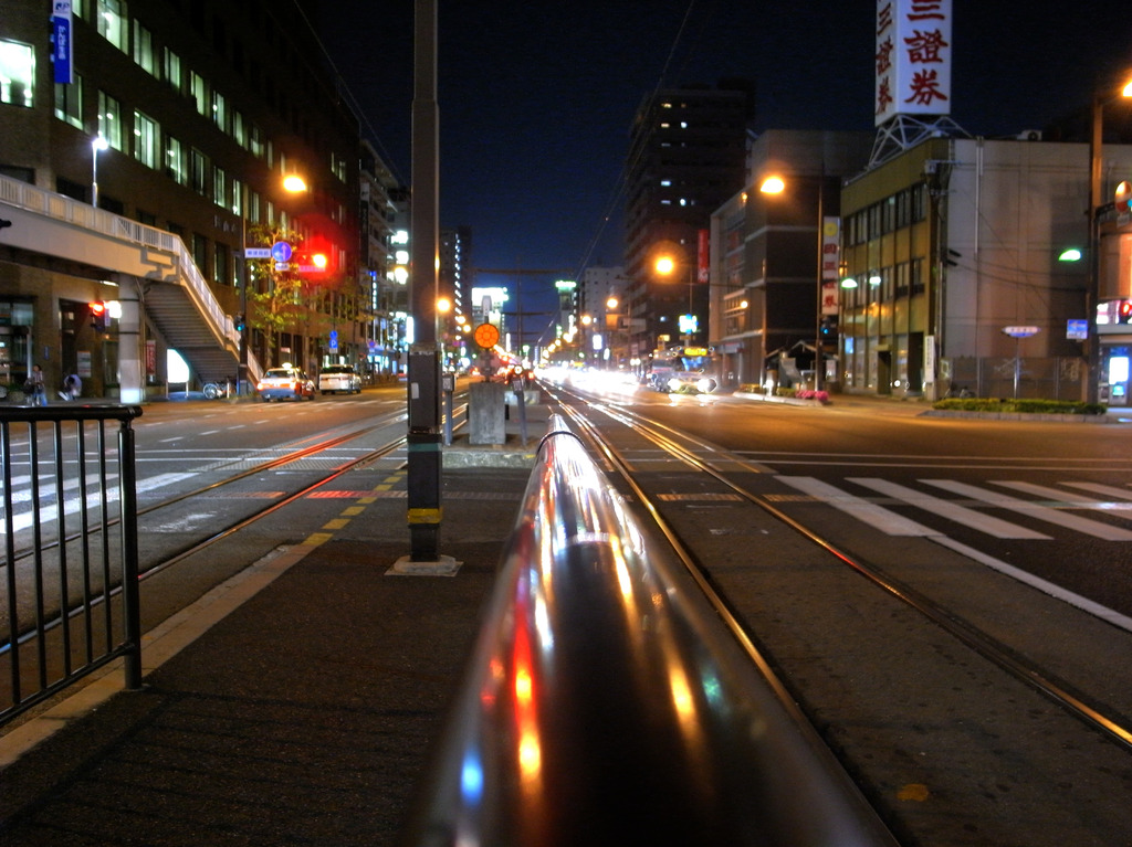 岡山市電 HDR