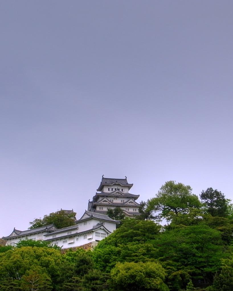 姫路城 HDR