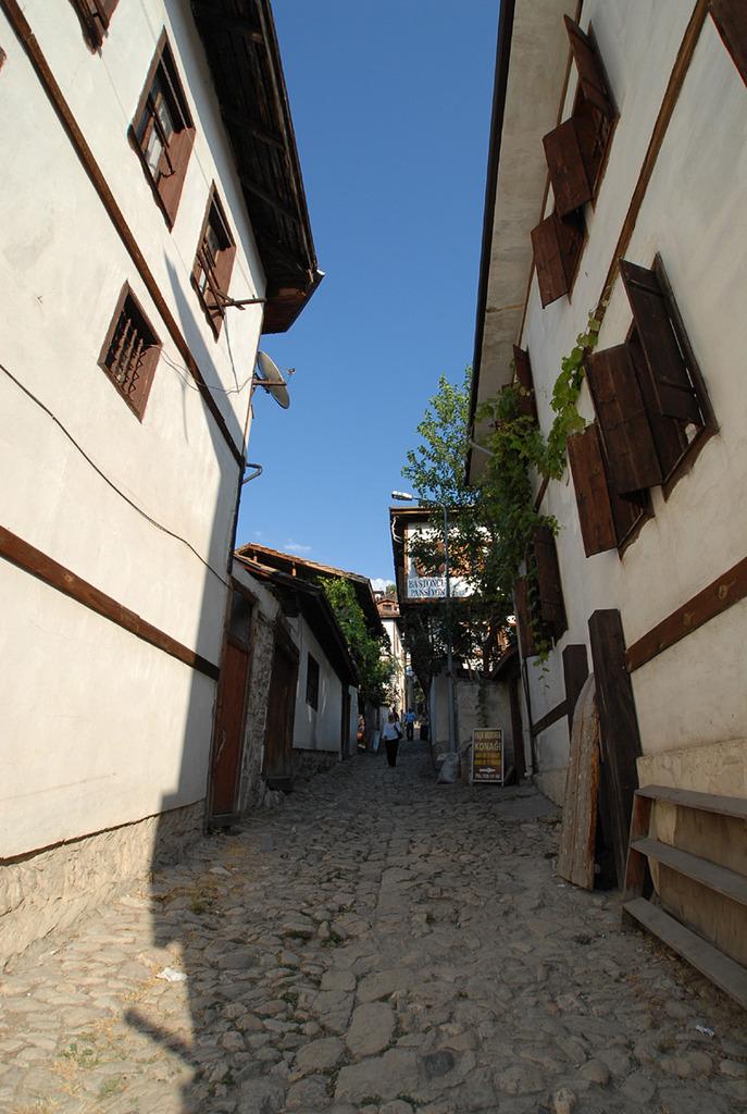 サフランボルの静かな街並み