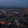キュタフヤの夜景