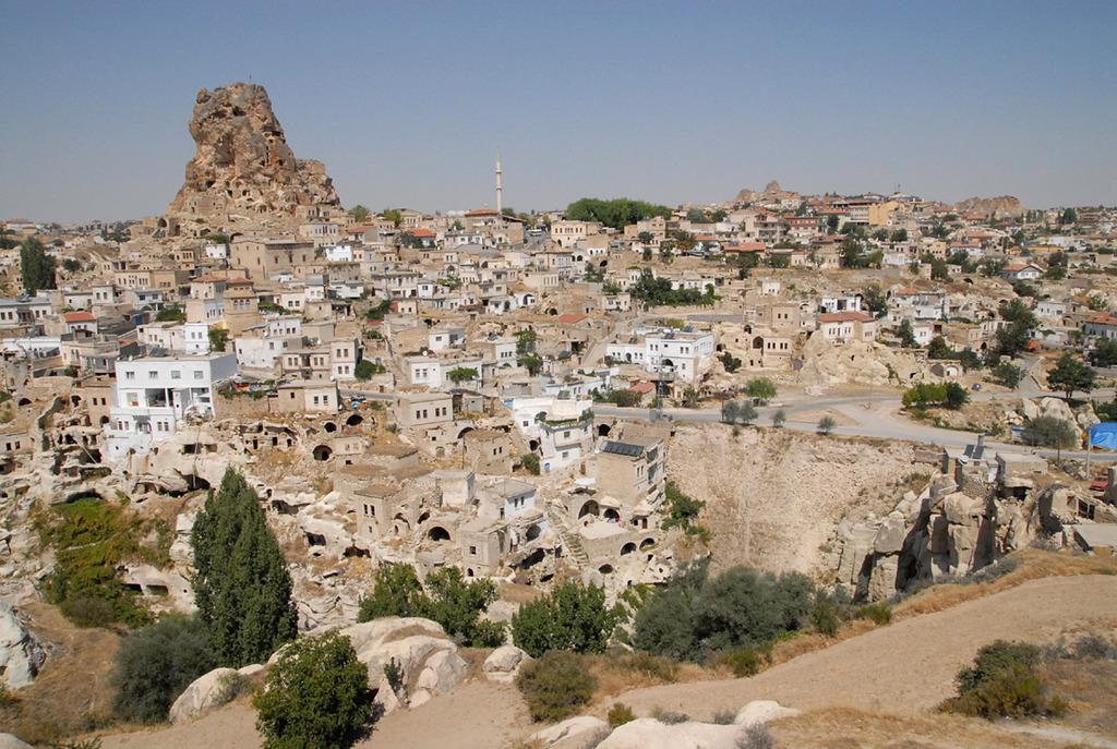 オルタヒサルの城塞