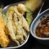 屋台で食べる天ぷら