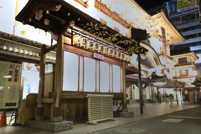 歌舞伎座 HDR