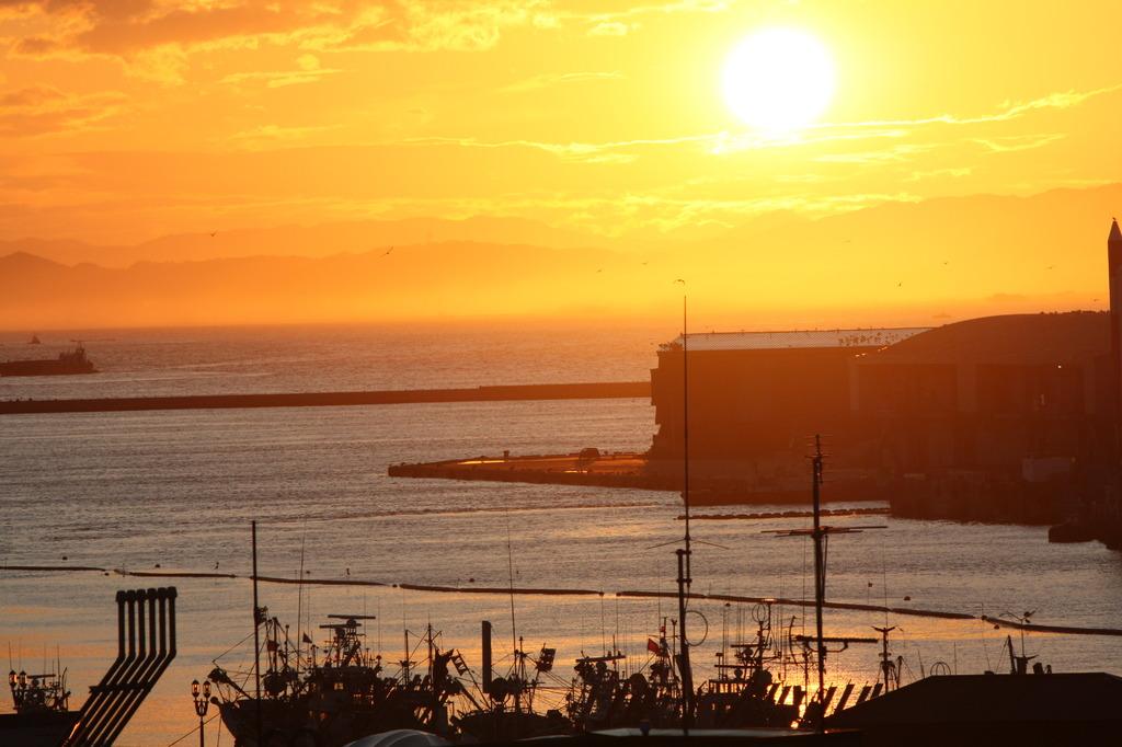 釧路の夕陽1