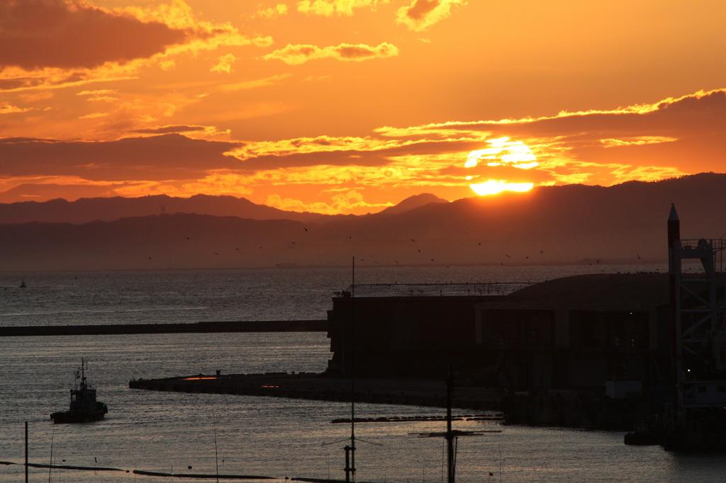 釧路の夕陽2