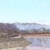 赤城山(デジタルフィルタ:水彩画→パステル画)