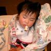 寝てる・・・zzz