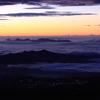 雲海と夜景