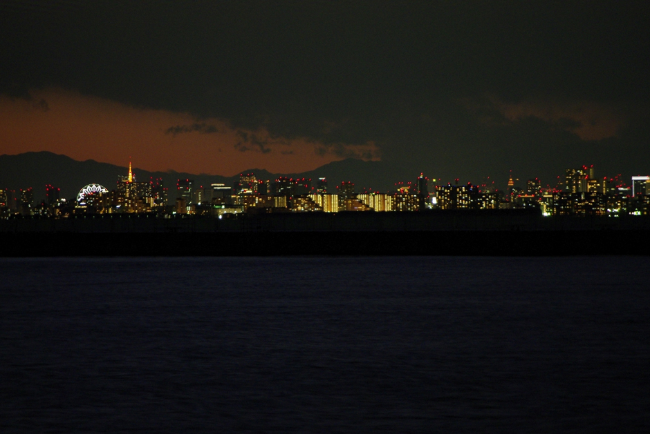 彼方の夜景