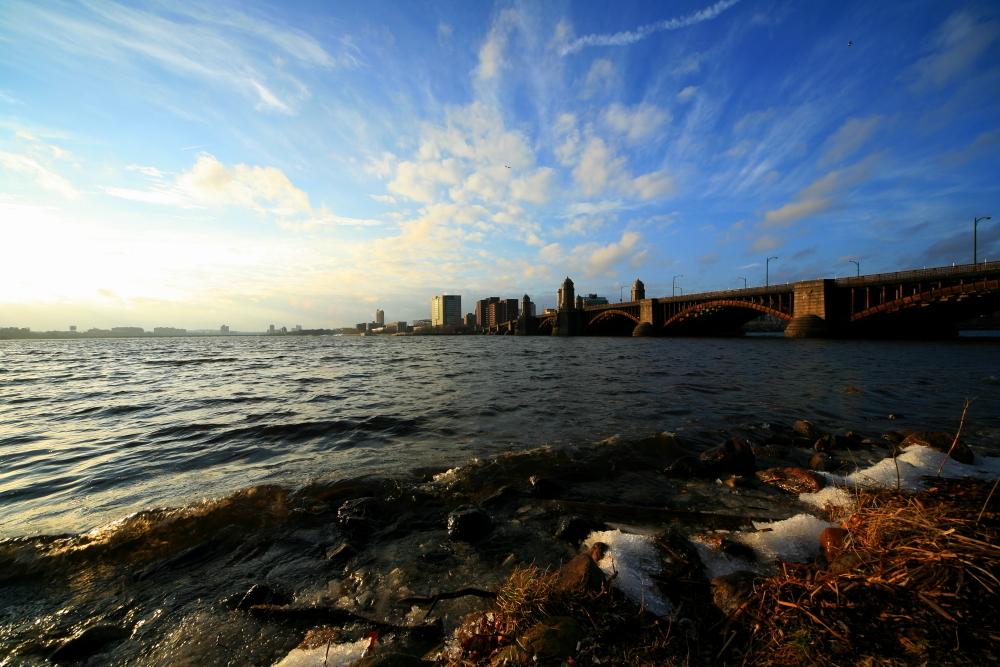 晴天のボストン