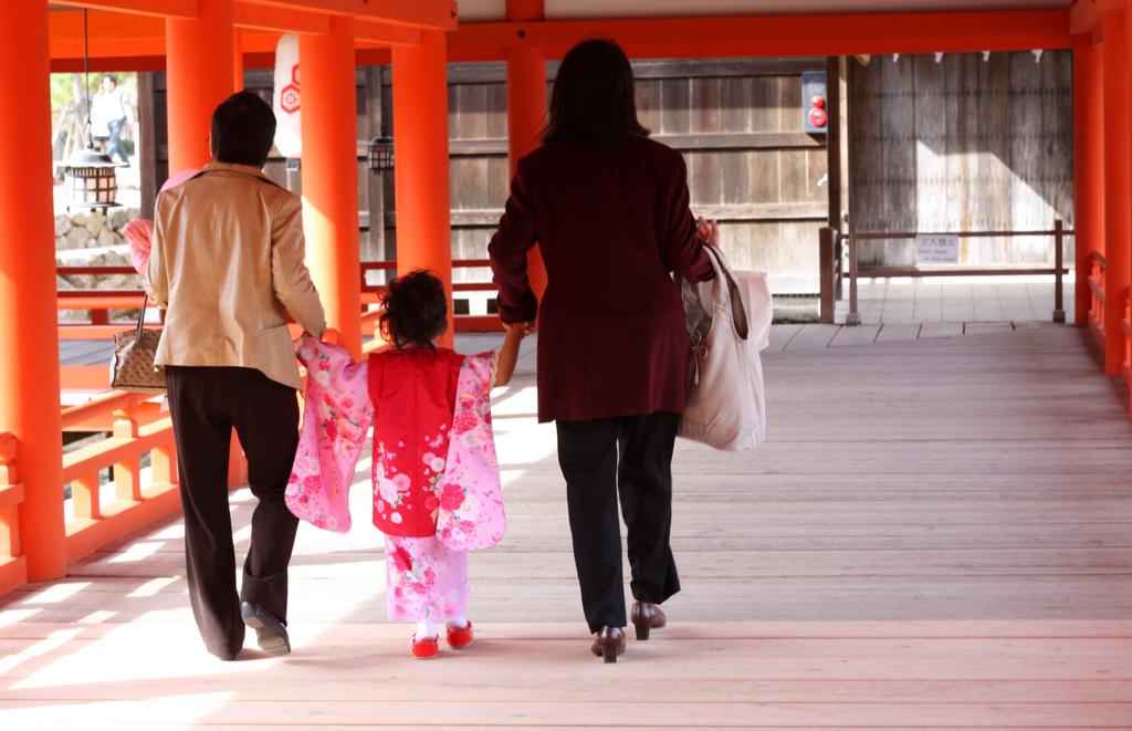 厳島神社七五三