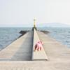 海に行く道
