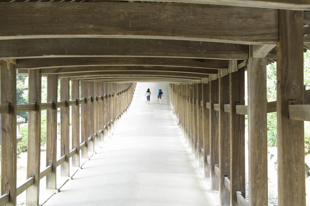 吉備津神社のタイムマシン