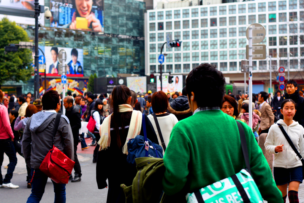 Shibuya Scramble crossway