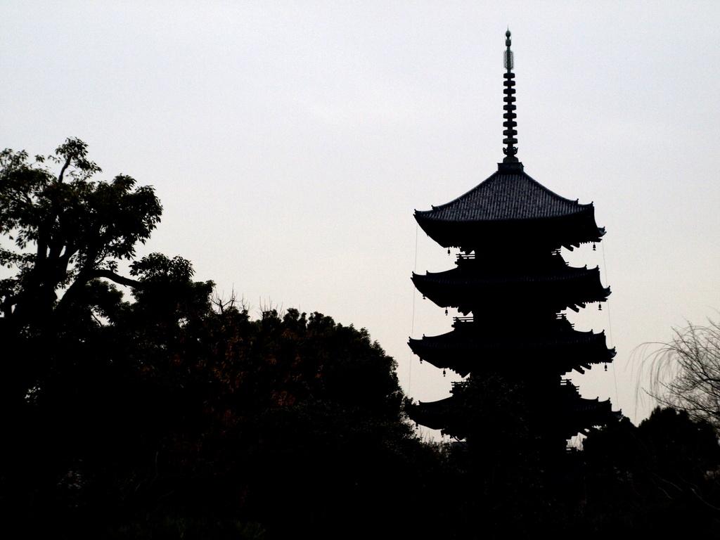 東寺とTessar