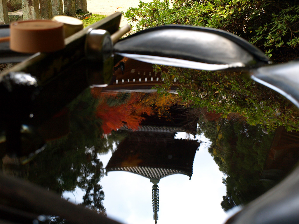 逆さ興隆寺