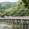 NIKON NIKON D300で撮影した(渡月橋)の写真(画像)
