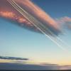 空飛ぶクジラ雲&蒼い衝撃!