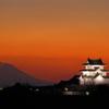 夕暮れの関宿城