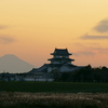 富士山が現れた!