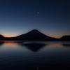 暁月の富士