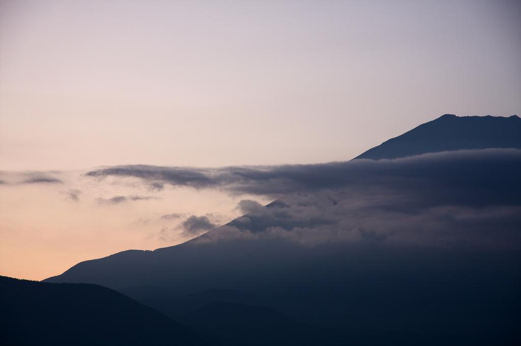 富士に漂う